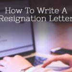 Contoh Surat Pengunduran Diri Kerja yang Baik dan Benar