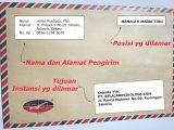 Amplop Contoh Surat Lamaran Kerja